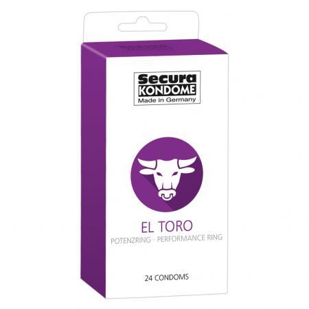 Secura Kondome El Toro Performance Ring x24 Condoms