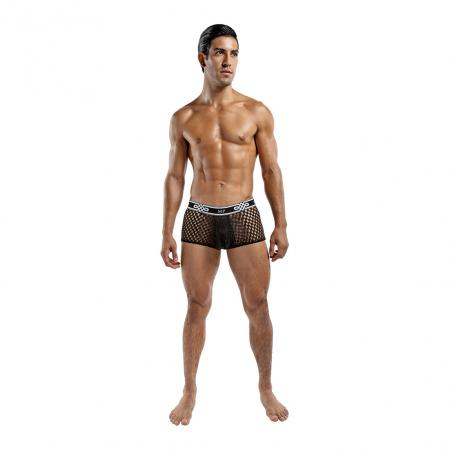 Male Power Peep Show Mini Short Black